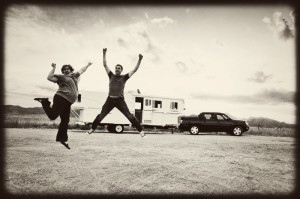 Tim and I were excited to start RVing
