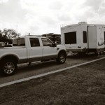 nancy and phil's RV and tow vehicle